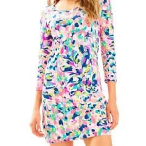 Lilly Pulitzer Beacon dress in piña colada